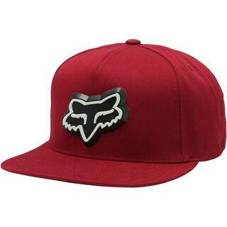 Fox Ingratiate Snapback Hat, red - Cap