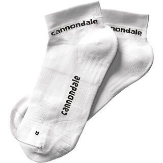 Cannondale Low Socks, white - Radsocken