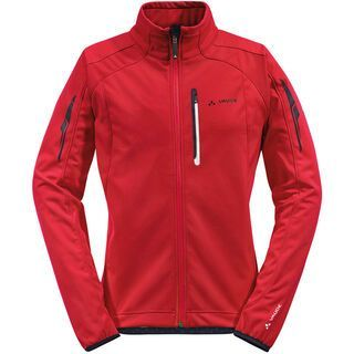 Vaude Mens Kuro Softshell Jacket, red - Radjacke