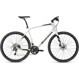 Specialized Sirrus Comp Carbon 2017, wht silver/black - Fitnessbike