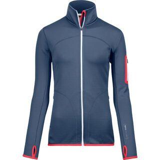 Ortovox Merino Fleece Jacket W, night blue - Fleecejacke