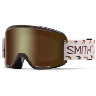 Smith Squad + Spare Lens, root fish/gold sol-x mirror - Skibrille