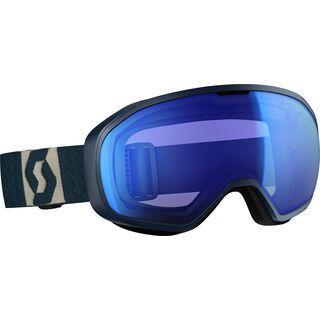 Scott Fix, blue grey/Lens: blue chrome - Skibrille