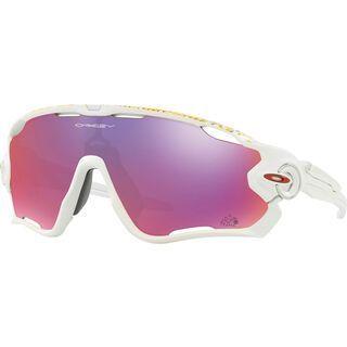 Oakley Jawbreaker Prizm Road, matte white - Sportbrille