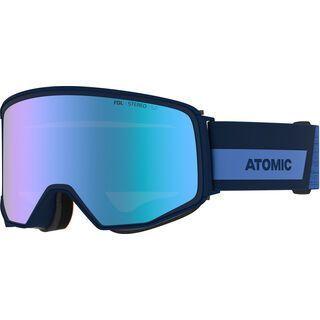 Atomic Four Q Stereo inkl. WS, blue/Lens: blue - Skibrille