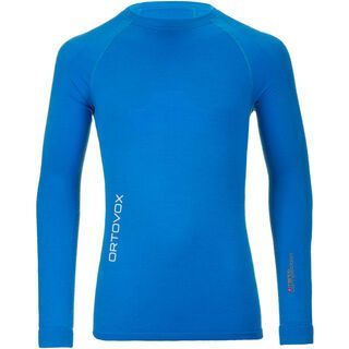 Ortovox Merino Competition Long Sleeve, blue ocean - Funktionsshirt
