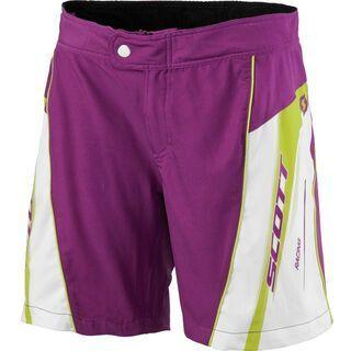Scott Shorts Womens RC ls/fit, purple/white - Radhose