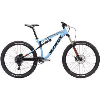 Kona Precept 150 2017, cyan/black - Mountainbike