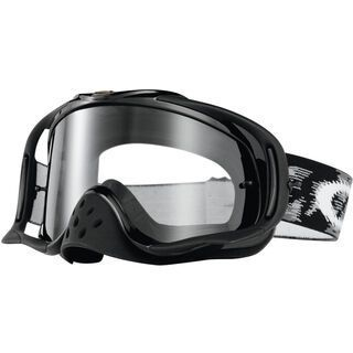 Oakley Crowbar MX, jet black speed/Lens: clear - MX Brille