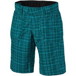 Scott Womens Sky 20 ls/fit Short, petrol green/aqua blue - Radhose
