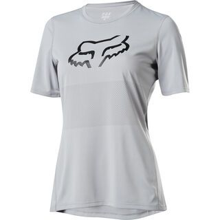 Fox Womens Ranger SS Jersey, steel grey - Radtrikot