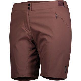 Scott Endurance LS/Fit w/Pad Women's Shorts, maroon red - Radhose