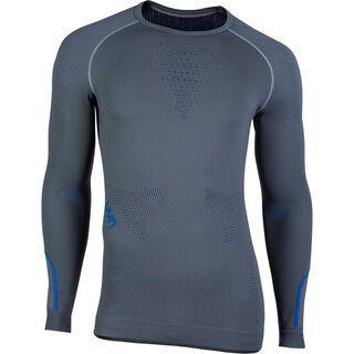 UYN Ambityon Shirt, grey/royal blue - Unterhemd