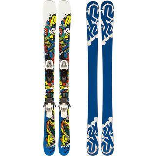 K2 Juvy Fastrak2 7.0 85 mm Set 2012 - Ski-Set