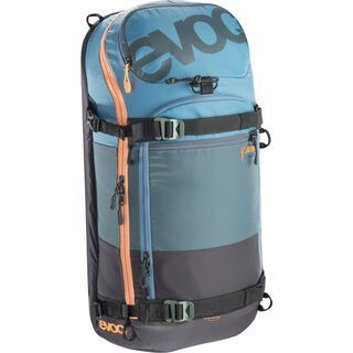 Evoc Zip-On ABS Pro 20l Team, copen blue/slate/mud - ABS Zip-On