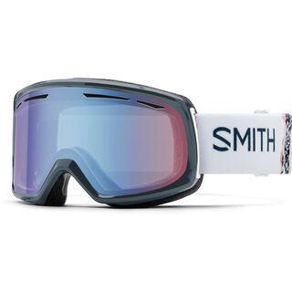 Smith Drift, thunder composite/Lens: blue sensor mirror - Skibrille