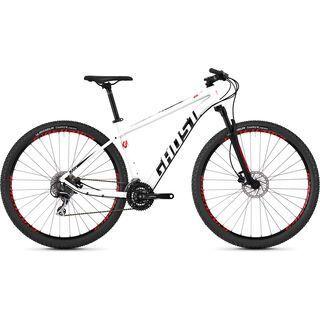 Ghost Kato 3.9 AL 2019, white/black/red - Mountainbike