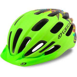 Giro Hale, mat lime - Fahrradhelm