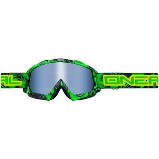 ONeal B-Flex Hendrix, black green/lens: clear - MX Brille
