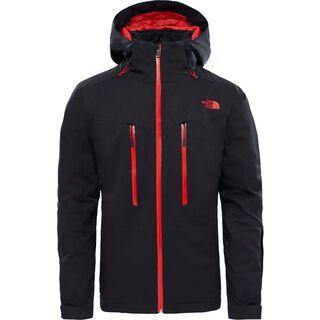 The North Face Mens Chakal Jacket, tnf black/centennial red - Skijacke
