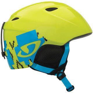 Giro Slingshot, Green Skull - Snowboardhelm