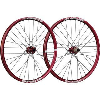 Spank Oozy Trail 345 Wheelset 29, red - Laufradsatz