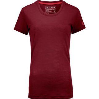 Ortovox 150 Cool Clean T-Shirt W, dark blood - Funktionsshirt