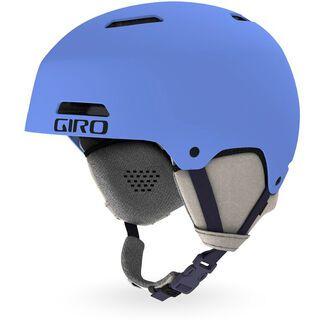 Giro Ledge, matte shock blue - Skihelm