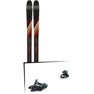 Set: K2 SKI Wayback 80 2019 + Marker Alpinist 9 black/turquoise