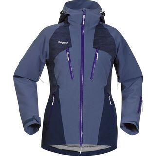 Bergans Oppdal Insulated Lady Jacket, blue/navy/purple - Skijacke