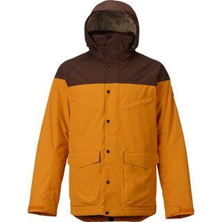 Burton Breach Jacket, golden oak/chestnut - Snowboardjacke