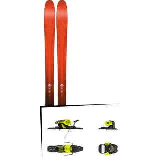 Set: K2 SKI Pinnacle 105 2017 + Salomon Warden 11 (1706224)