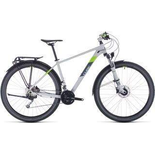 Cube Aim SL Allroad 27.5 2020, lightgrey´n´green - Mountainbike