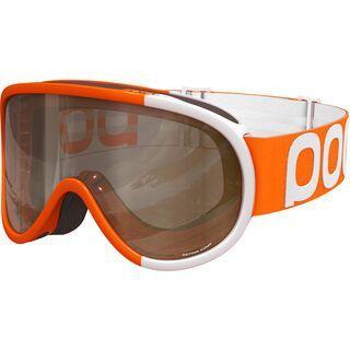 POC Retina Comp inkl. Wechselscheibe, zink orange/Lens: smokey yellow - Skibrille