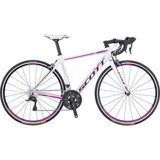 Scott Contessa Speedster 35 2016, white/pink/purple - Rennrad