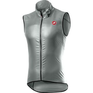Castelli Aria Vest, silver gray - Radweste