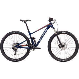 Kona Hei Hei 2017, blue/silver/orange - Mountainbike