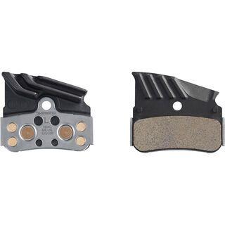 Shimano N04C Metall Scheibenbremsbelag mit Kühlrippen