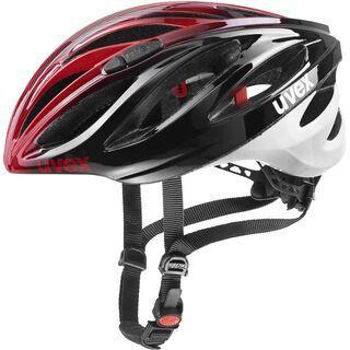 uvex boss race, black red - Fahrradhelm