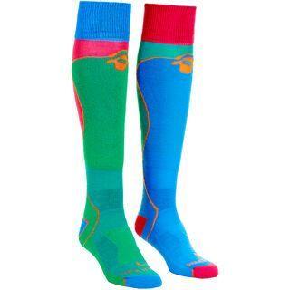 Ortovox Socks Ski Rock'n'Wool, crazy green - Socken
