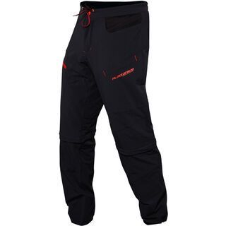 Platzangst Crossflex Zip Off Pants, black - Radhose