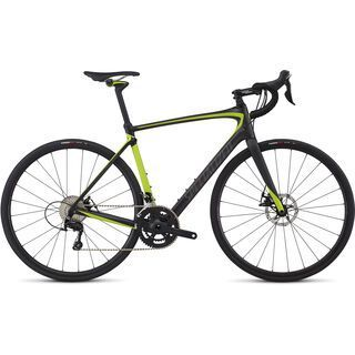 Specialized Roubaix Elite 2017, carbon/hy green/charcoal - Rennrad