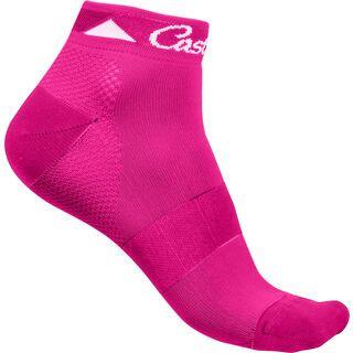 Castelli Brillante Sock, raspberry - Radsocken