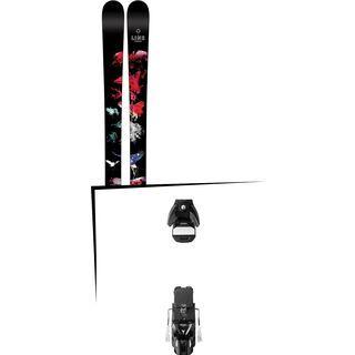 Set: Line Chronic 2016 + Atomic STH 13 WTR 100 mm, black/gun metal - Skiset