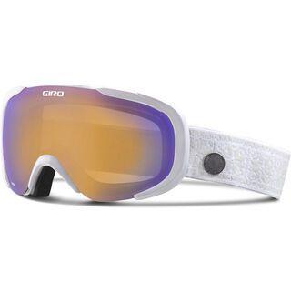 Giro Field, white nordic/persimmon boost - Skibrille