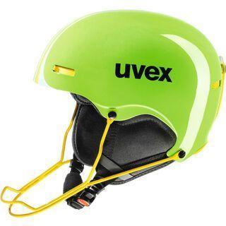 uvex hlmt 5 race, lightgreen-yel - Skihelm