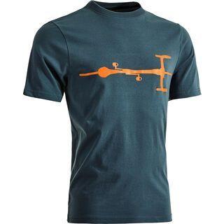 Cube T-Shirt Bike, blue´n´orange