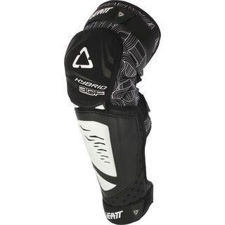 Leatt Knee & Shin Guard 3DF Hybrid EXT Junior, black - Knie/Schienbeinschützer