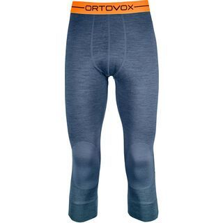 Ortovox 185 Merino Rock'n'Wool Short Pants M, night blue blend - Unterhose