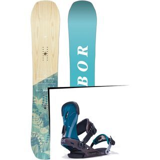 Set: Arbor Swoon Camber 2017 + Ride VXN (1770182S)